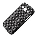 Modern Dots In Squares Mosaic Black White Samsung Galaxy Ace 3 S7272 Hardshell Case View4