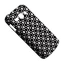 Modern Dots In Squares Mosaic Black White Samsung Galaxy Ace 3 S7272 Hardshell Case View5