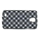Modern Dots In Squares Mosaic Black White Galaxy S4 Active View1