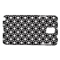 Modern Dots In Squares Mosaic Black White Samsung Galaxy Note 3 N9005 Hardshell Case View1