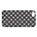 Modern Dots In Squares Mosaic Black White Apple iPhone 5C Hardshell Case View1