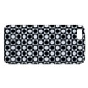 Modern Dots In Squares Mosaic Black White iPhone 5S/ SE Premium Hardshell Case View1