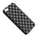 Modern Dots In Squares Mosaic Black White iPhone 5S/ SE Premium Hardshell Case View5