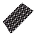 Modern Dots In Squares Mosaic Black White iPad Air Hardshell Cases View4
