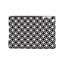 Modern Dots In Squares Mosaic Black White iPad Mini 2 Hardshell Cases View1