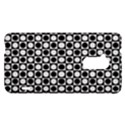 Modern Dots In Squares Mosaic Black White HTC One Max (T6) Hardshell Case View1