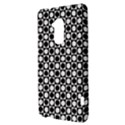 Modern Dots In Squares Mosaic Black White HTC One Max (T6) Hardshell Case View3
