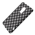 Modern Dots In Squares Mosaic Black White HTC One Max (T6) Hardshell Case View4