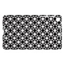 Modern Dots In Squares Mosaic Black White Nexus 7 (2013) View1