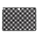 Modern Dots In Squares Mosaic Black White Samsung Galaxy Tab Pro 10.1 Hardshell Case View1