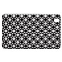 Modern Dots In Squares Mosaic Black White Samsung Galaxy Tab Pro 8.4 Hardshell Case View1