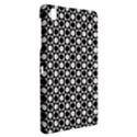 Modern Dots In Squares Mosaic Black White Samsung Galaxy Tab Pro 8.4 Hardshell Case View2