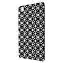 Modern Dots In Squares Mosaic Black White Samsung Galaxy Tab Pro 8.4 Hardshell Case View3
