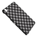 Modern Dots In Squares Mosaic Black White Samsung Galaxy Tab Pro 8.4 Hardshell Case View4