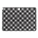 Modern Dots In Squares Mosaic Black White Samsung Galaxy Tab Pro 12.2 Hardshell Case View1