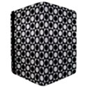 Modern Dots In Squares Mosaic Black White iPad Mini 2 Flip Cases View3