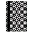 Modern Dots In Squares Mosaic Black White iPad Mini 2 Flip Cases View4