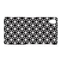 Modern Dots In Squares Mosaic Black White Sony Xperia Z2 View1