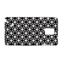 Modern Dots In Squares Mosaic Black White Samsung Galaxy Note 4 Hardshell Case View1