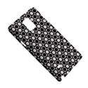 Modern Dots In Squares Mosaic Black White Samsung Galaxy Note 4 Hardshell Case View5