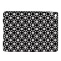 Modern Dots In Squares Mosaic Black White iPad Air 2 Hardshell Cases View1