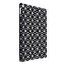 Modern Dots In Squares Mosaic Black White iPad Air 2 Hardshell Cases View2
