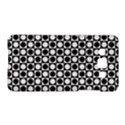 Modern Dots In Squares Mosaic Black White Samsung Galaxy A5 Hardshell Case  View1