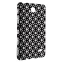 Modern Dots In Squares Mosaic Black White Samsung Galaxy Tab 4 (8 ) Hardshell Case  View3