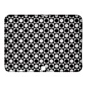 Modern Dots In Squares Mosaic Black White Samsung Galaxy Tab 4 (10.1 ) Hardshell Case  View1