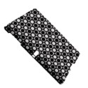 Modern Dots In Squares Mosaic Black White Samsung Galaxy Tab S (10.5 ) Hardshell Case  View5