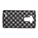 Modern Dots In Squares Mosaic Black White LG G4 Hardshell Case View1