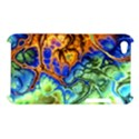 Abstract Fractal Batik Art Green Blue Brown Apple iPod Touch 4 View1