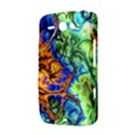 Abstract Fractal Batik Art Green Blue Brown HTC ChaCha / HTC Status Hardshell Case  View3