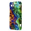 Abstract Fractal Batik Art Green Blue Brown HTC Vivid / Raider 4G Hardshell Case  View3