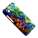Abstract Fractal Batik Art Green Blue Brown HTC Vivid / Raider 4G Hardshell Case  View5