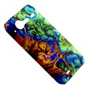 Abstract Fractal Batik Art Green Blue Brown HTC Incredible S Hardshell Case  View5