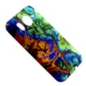 Abstract Fractal Batik Art Green Blue Brown HTC Desire HD Hardshell Case  View5
