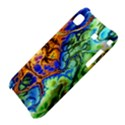 Abstract Fractal Batik Art Green Blue Brown Samsung Galaxy S i9000 Hardshell Case  View4