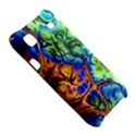 Abstract Fractal Batik Art Green Blue Brown Samsung Galaxy S i9000 Hardshell Case  View5