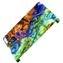 Abstract Fractal Batik Art Green Blue Brown Apple iPad 2 Hardshell Case (Compatible with Smart Cover) View4