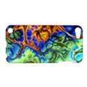 Abstract Fractal Batik Art Green Blue Brown Apple iPod Touch 5 Hardshell Case View1