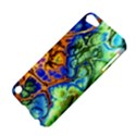 Abstract Fractal Batik Art Green Blue Brown Apple iPod Touch 5 Hardshell Case View4