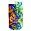 Abstract Fractal Batik Art Green Blue Brown Apple iPhone 5 Hardshell Case (PC+Silicone) View2