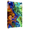 Abstract Fractal Batik Art Green Blue Brown Apple iPad Mini Hardshell Case View2