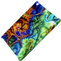 Abstract Fractal Batik Art Green Blue Brown Apple iPad Mini Hardshell Case View4