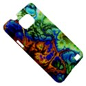 Abstract Fractal Batik Art Green Blue Brown Samsung Galaxy S II i9100 Hardshell Case (PC+Silicone) View5