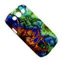Abstract Fractal Batik Art Green Blue Brown Samsung Galaxy S III Classic Hardshell Case (PC+Silicone) View5