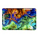Abstract Fractal Batik Art Green Blue Brown Nexus 7 (2012) View1