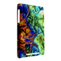 Abstract Fractal Batik Art Green Blue Brown Nexus 7 (2012) View2
