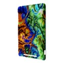 Abstract Fractal Batik Art Green Blue Brown Nexus 7 (2012) View3